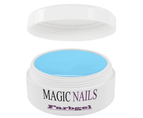 Magic Items Gels UV – – Bleu clair qualité studio 5 ml