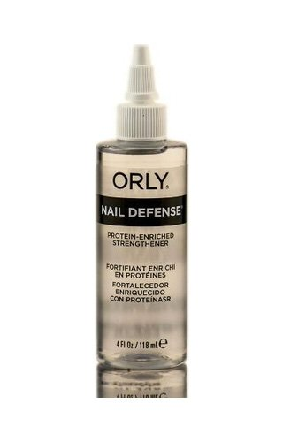 Orly Nail Defense Protein Enriched Strengthener for Splitting and Peeling Nails 4 oz (118 ml) - Orly Nail-strengthener