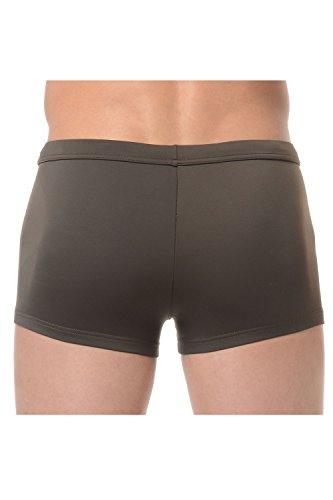 HOM shorts de bain homme Olive