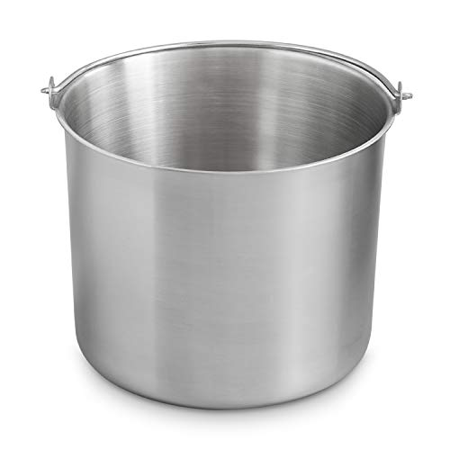 Edelstahl Eisbehälter für Eismas...
