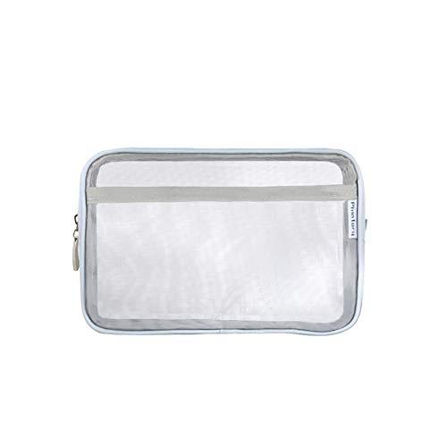 Miaoshoping Bolsa Cosmeticos Transparente Hilo Malla