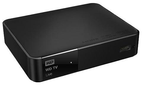 WD TV Live Lecteur multimédia WiFi Full-HD 1080p AVI Xvid MKV MOV FLV MP4 MPEG