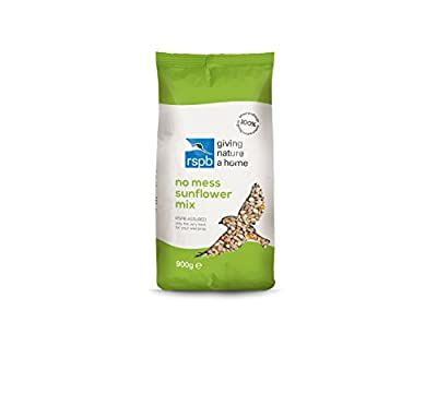 RSPB 900 g No Mess Sunflower Seed Mix by RSPB