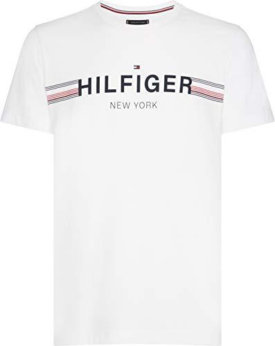 n Corp Flag Tee T-Shirt, Weiß (Bright White 100), Small (Herstellergröße: S) ()