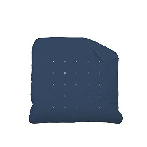 Matt&Rose 044858 Housse de couette Coton Bleu nuit 260 x 240 cm