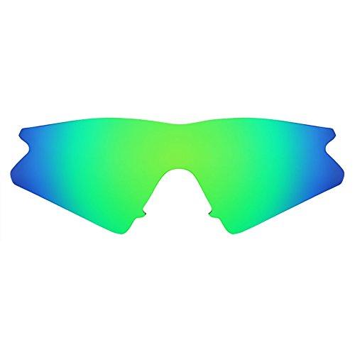 Revant Schutzglas für Oakley M Frame Sweep Emerald Grün MirrorShield®