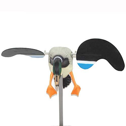 LIUSHUNBAO, Qualität Jagd Enten-Lockvogel elektrische Fliegen-Ente Motorisierte Enten-Lockvogel mit Fernbedienung (Farbe : Male Duck) -