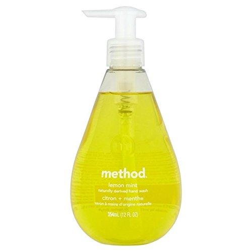 Metodo Di Limone Menta Lavaggio A Mano 354Ml (Confezione da