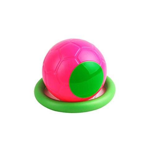 Hangnuo Knöchel Skip Ball überspringen Ball Schwingen Ball Sprung ball Hüpf ball Spielzeug ball Spiele Fußball Kickball Sport Übung Fitnessgeräte für Kinder Erwachsene Jungen Mädchen, Rosa