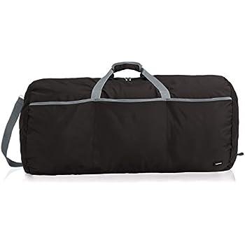 AmazonBasics Large Duffel Bag, 98L, Black