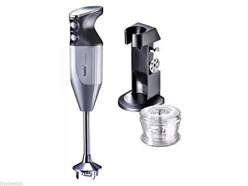 Price comparison product image bamix Deluxe Hand Held Food Processor, 180 W, Silver