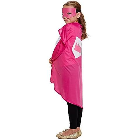 Henbrandt - Disfraz de superheroína para niños (talla única)