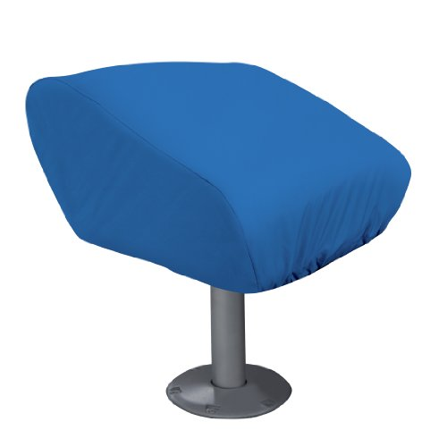 Classic Accessories Boat Folding Seat Cover, Medium, Blue by Classic Accessories -