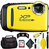 FUJIFILM FinePix XP130 Digital Camera (Yellow) Plus Bundle