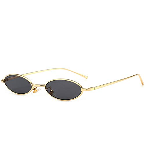 YOURSN Kleine Punkte Ovale Sonnenbrille Für Frauen Sonnenbrille Schmales Gesicht Damen Sonnenbrille Transparente Brille Shades-C01