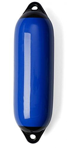 Marine Fender Bootsfender Rammschutz Langfender blau Größe Größe 3 SET (4 Stück)