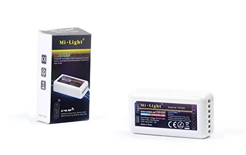 KingLed - Mi-Light Dimmer Wi-Fi Multizona per Strisce LED Multicolore con il Bianco Dinamico Ricevitore per Strip RGB+CCT da DC12V o DC24V Max 10A Serie MiLight FUT039 cod. 2248