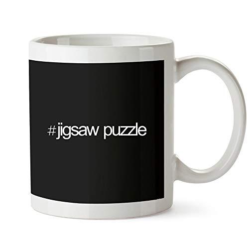 Idakoos Hashtag Jigsaw Puzzle Bold Text - Ocio - Taza