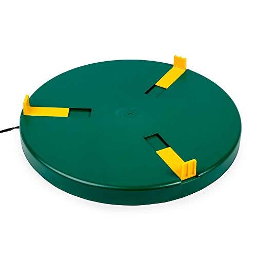 Tränkenwärmer Ø30cm (24V, 12W) Heizplatte, Wärmeplatte für Geflügeltränken inkl. 230V Netzadapter