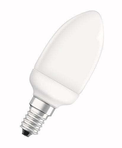 Osram Dulux Pro Mini Candle 6W/825 E14 Lampada fluorescente compatta