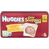 Huggies Little Snugglers Diapers - Newborn - 36 ct