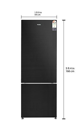 Haier 345 L 3 Star Frost Free Double Door Refrigerator Hrb 3654pkg