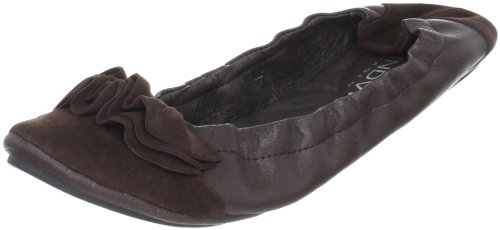 Lise Lindvig DOT 008003, Ballerine donna Marrone (Braun (Dark brown))