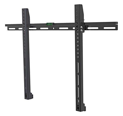 Archimède dwd974 Porte TV 32 – 70 pouces, métal, noir, 64 x 3 x 43 cm