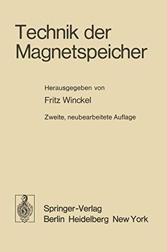 Technik der Magnetspeicher (German Edition)