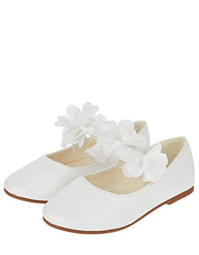 Monsoon Kids Baby - Mädchen Dora Baby-Schuhe mit Blumen Feier Schuhe - 20