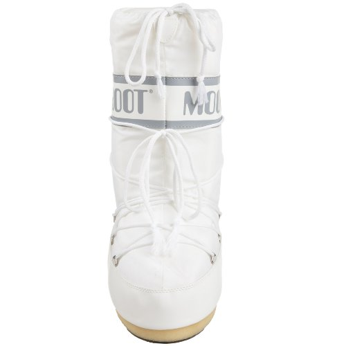 Moon Boot Nylon, Bottes de Neige mixte adulte Blanc (Bianco)