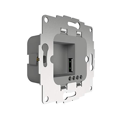 2USB chargeUP 12W/2,4A Unterputz- Ladenetzteil mit Universal-USB-A-Anschluss verwendbar für Tablets -