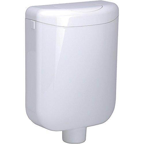 WC Aufputz Spülkasten Pagette Ecolux - Austausch Geberit - 6 liter - weiss