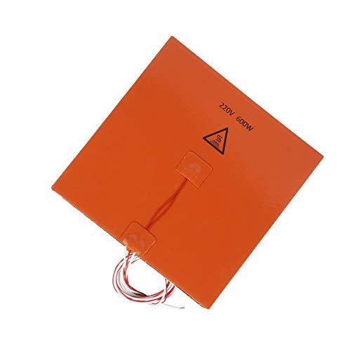 Calentador de goma con almohadilla para la impresora 3D 220V 600W