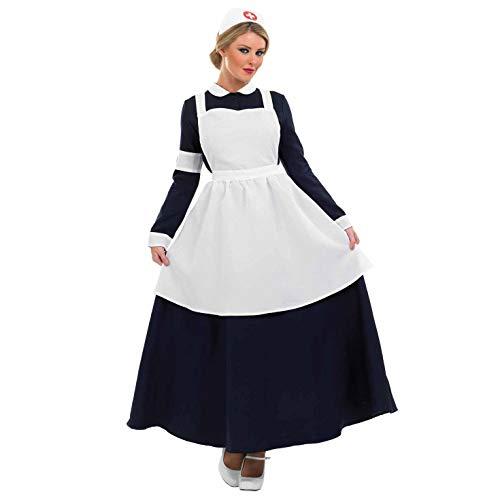 Fun Shack Viktorianische Krankenschwester - Adult Kostüm - XL - 48-50 (Ein Prozent Kostüm)