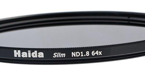 Slim Graufilter ND64 - 52mm + Pro Lens Cap mit Innengriff