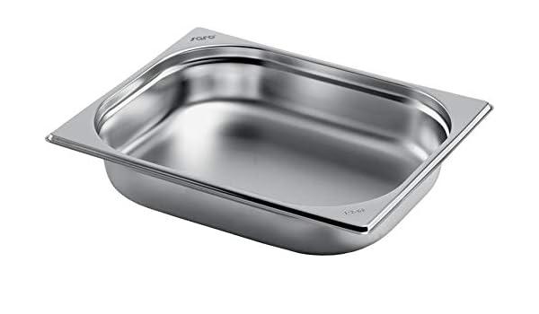 GN 1//3 Gastronormbehälter GN-Behälter Gastronorm Edelstahl 7,8 Liter Tiefe 200mm