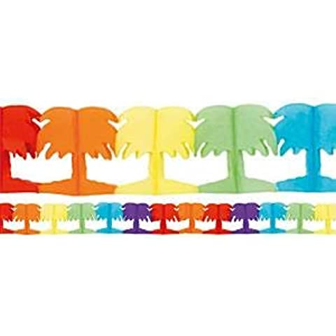 Palm Tree Paper Garland - 4m