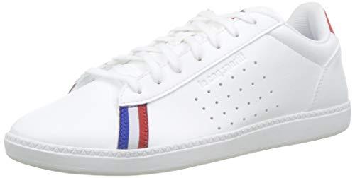 Le Coq Sportif COURTSTAR Sport, Zapatillas para Hombre, Blanco (Optical White/Pure Red...