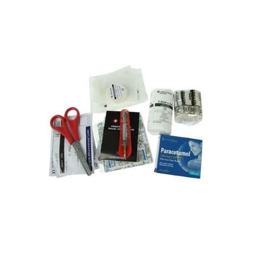 31jEqFWHUaL. SS500  - LifeSystems Trek First Aid Kit Red -