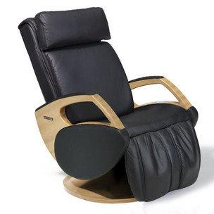 Massagesessel | Massagestuhl Leder schwarz Keyton Dynamic - Top Angebot von welcon.de