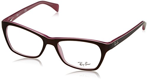 Ray-Ban Damen Brillengestell 0rx 5298 5386 53, Braun (Brown)
