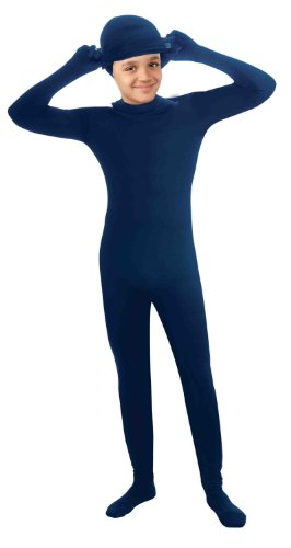 Invisible Man Child Costume Blue Skin Suit (Invisible Kid Kostüm)