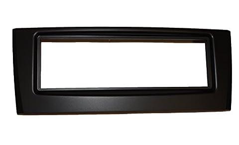 Aerzetix C4552 Cadre Réducteur Adaptateur Cache pour Autoradio 1 DIN, Noir
