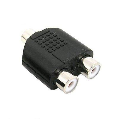 gametown 3,5mm Stereo Audio-Adapter Weiblich zu Dual-RCA-Female für PS3Xbox 360DVD