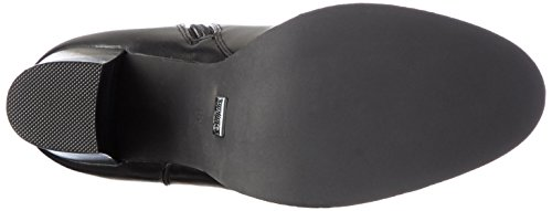 BUFFALO - B109a-101 P1735a Pu, Stivali a metà polpaccio con imbottitura leggera Donna Nero (nero (black 01))