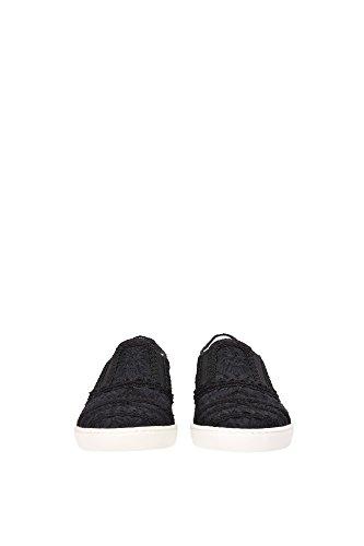 CS1305AF8098B956 Dolce&Gabbana Pantoufle Homme Cuir Noir Noir