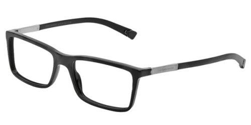 Dolce & Gabbana Für Mann 3211 Black Kunststoffgestell Brillen, 53mm