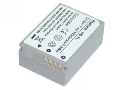 Nb-7l Digital-kamera (7,40V 1050mAh Kompatibler Ersatz für CANON PowerShot G10, PowerShot G11, PowerShot G12, PowerShot SX30 IS,NB-7L Digitalkamera Akku)