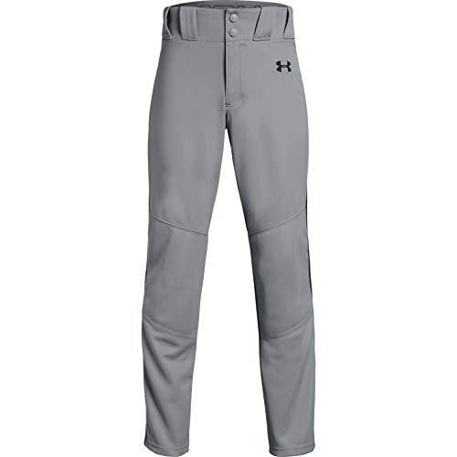 Under Armour Jungen Utility Relaxed Pants Pipe Hosen, Baseball Gray (080)/Black, Youth X-Large